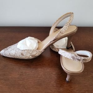 Stuart Weitzman sugarlace dress shoes